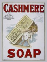 Cashmere Soap  Metal Wall Sign (2 sizes)